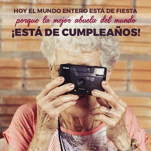 mensajes de cumpleaños para una abuela