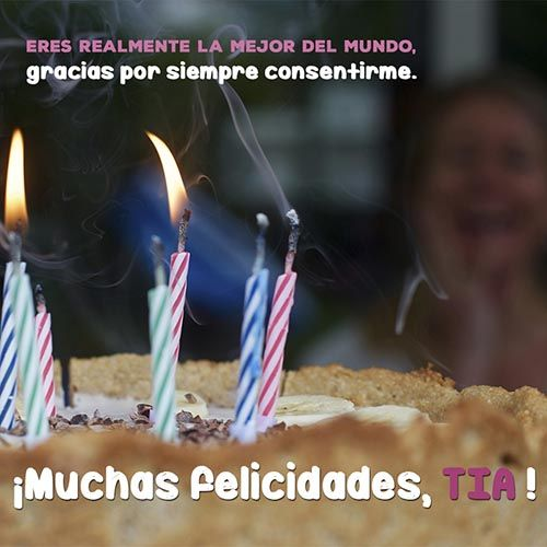 50 Frases Y Mensajes De Cumpleaños Para Una Tía 2020