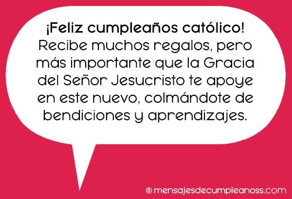 felicitaciones de cumpleaños cristianas y catolicas